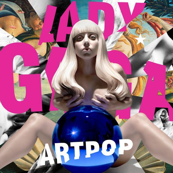 Copertina Disco Vinile 33 giri Artpop [2 LP] di Lady Gaga