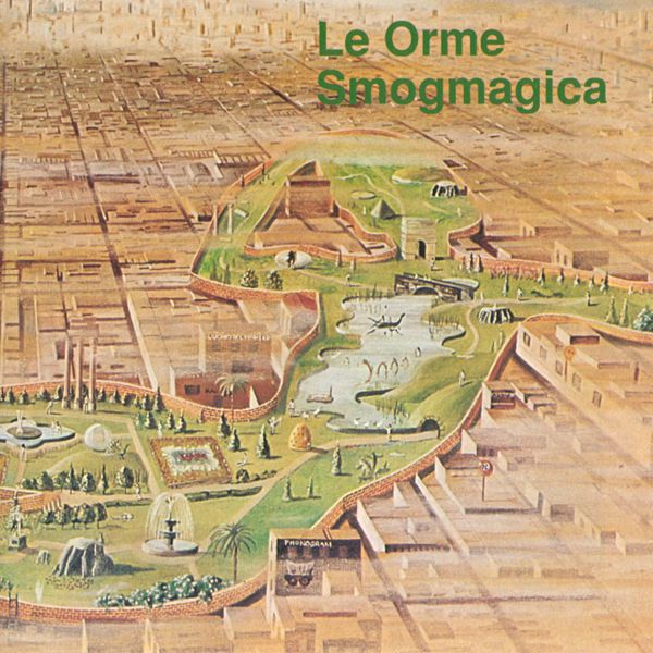 Copertina Disco Vinile 33 giri Smogmagica di Le Orme