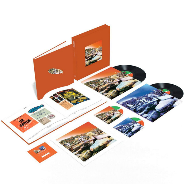 Copertina Disco Vinile 33 giri Houses Of The Holy [2xLP 2xCD - Super Deluxe Edition Box] di Led Zeppelin