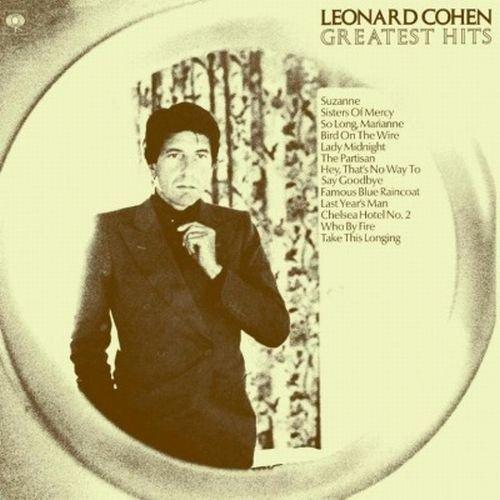 Copertina Disco Vinile 33 giri Greatest Hits di Leonard Cohen
