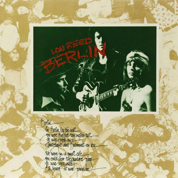 Copertina Disco Vinile 33 giri Berlin  di Lou Reed