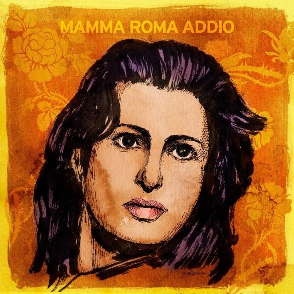 Copertina Disco Vinile 33 giri Mamma Roma Addio di Il Muro del Canto