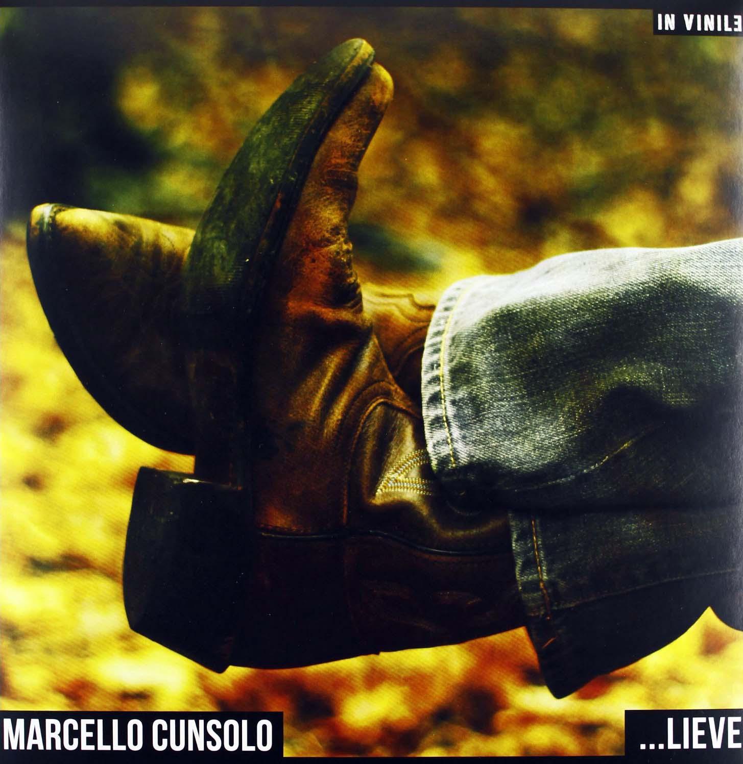 Copertina Disco Vinile 33 giri Lieve di Marcello Cunsolo