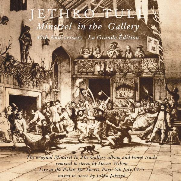 Copertina Disco Vinile 33 giri Minstrel In The Gallery di Jethro Tull