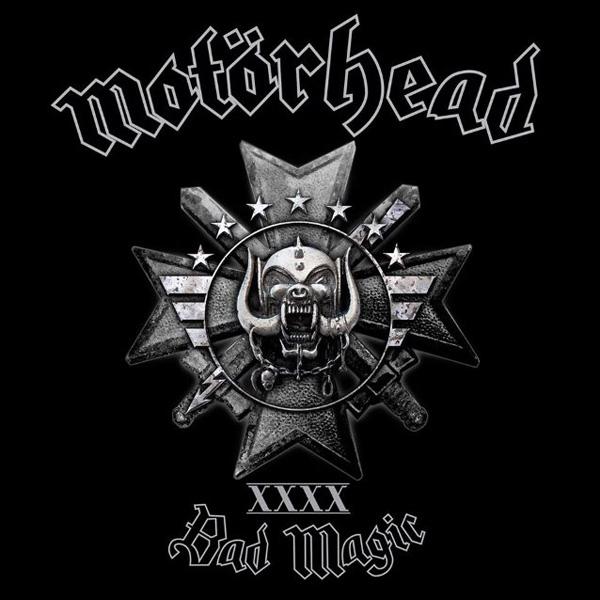 Copertina Disco Vinile 33 giri Bad Magic di Motorhead
