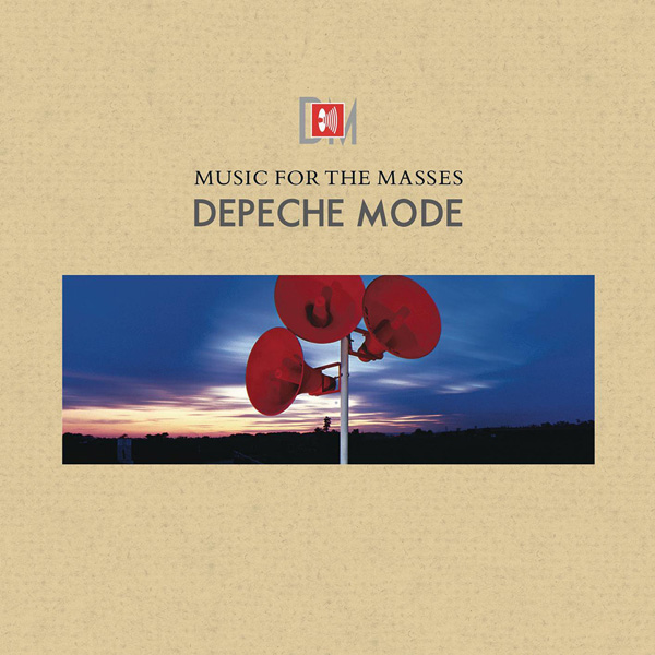 Copertina Disco Vinile 33 giri Music for the Masses di Depeche Mode