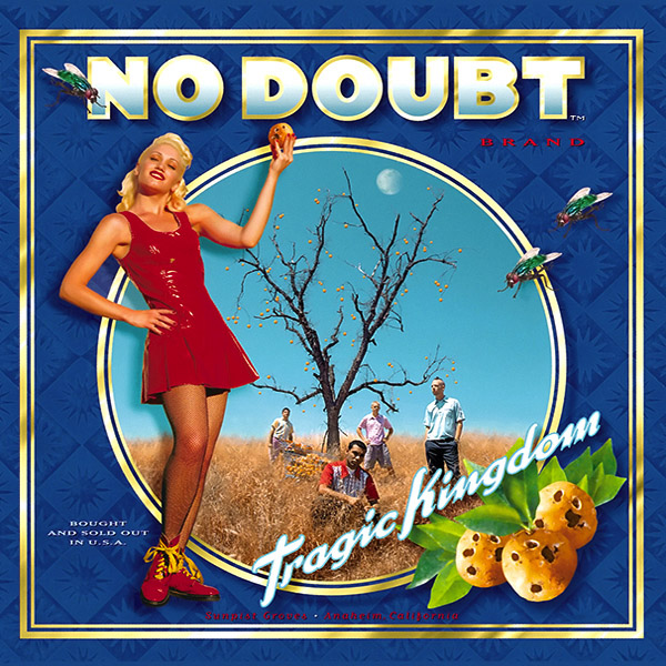 Copertina Disco Vinile 33 giri Tragic Kingdom di No Doubt