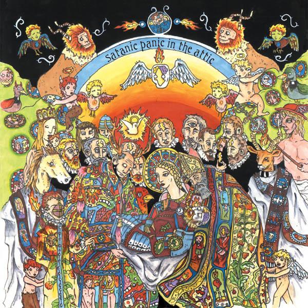Copertina Disco Vinile 33 giri Satanic Panic in the Attic [2 LP - 10° Anniversario] di Of Montreal