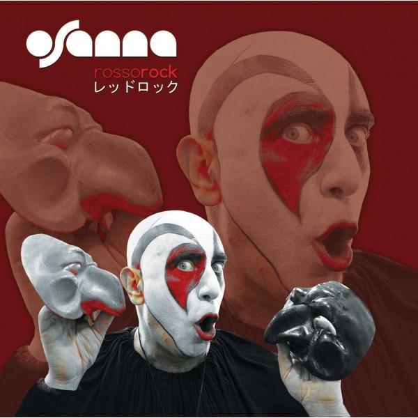 Copertina Disco Vinile 33 giri Rosso Rock [Progressive Italiano] di Osanna