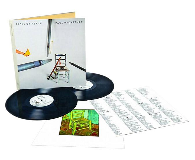 Copertina Disco Vinile 33 giri Pipes of Peace [2 LP] di Paul McCartney