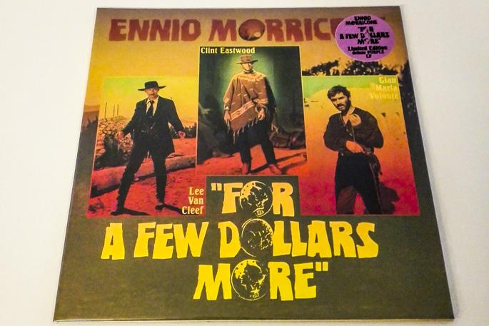 Copertina Disco Vinile 33 giri Per qualche dollaro in più [Soundtrack LP] di Ennio Morricone