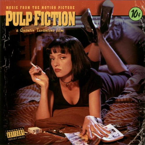Copertina Disco Vinile 33 giri Pulp Fiction Colonna Sonora