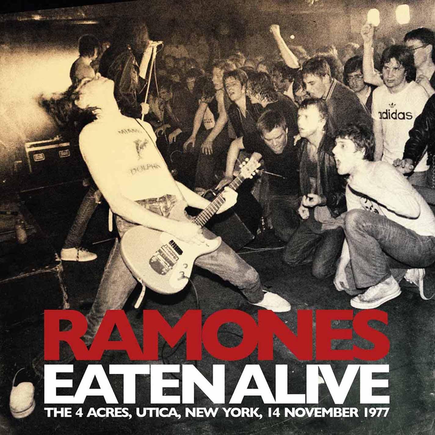 Copertina Disco Vinile 33 giri Eaten Alive [2 LP] di Ramones