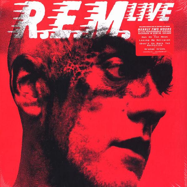 Copertina Disco Vinile 33 giri R.E.M. Live [3 LP + DVD] di R.E.M.