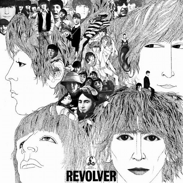 Copertina Disco Vinile 33 giri Revolver di The Beatles