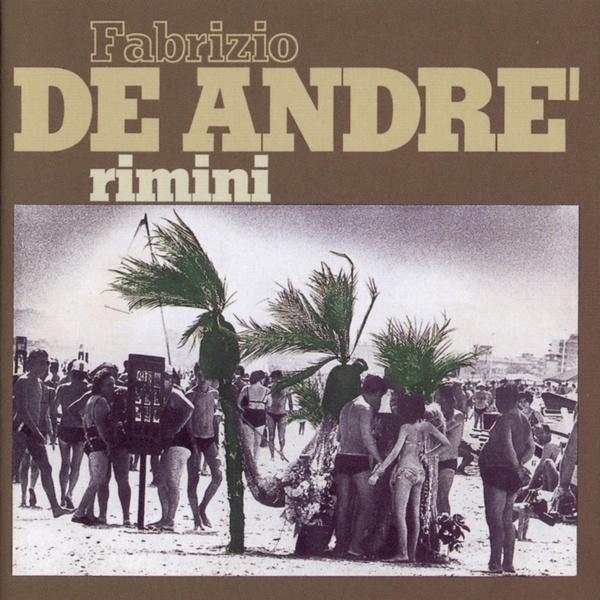 Copertina Disco Vinile 33 giri Rimini di Fabrizio De Andrè