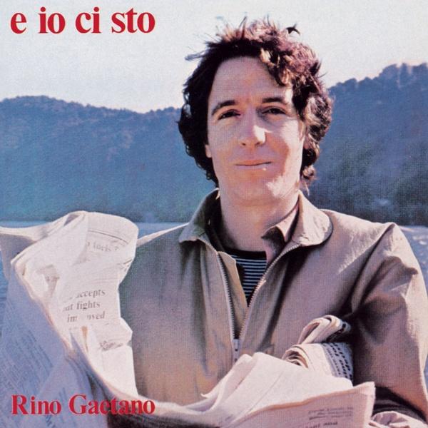 Copertina Disco Vinile 33 giri E io ci sto di Rino Gaetano