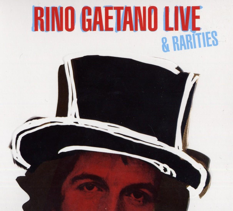 Copertina Disco Vinile 33 giri Live & Rarities [2 LP] di Rino Gaetano