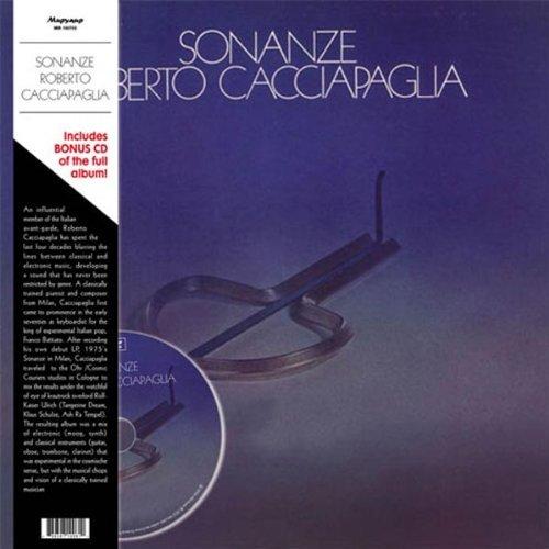 Copertina Disco Vinile 33 giri Sonanze (LP+CD) di Roberto Cacciapaglia
