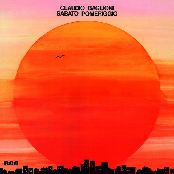 Copertina Disco Vinile 33 giri Sabato pomeriggio di Claudio Baglioni