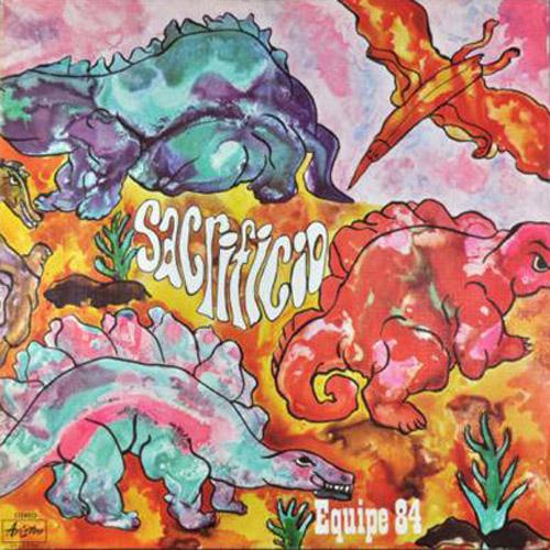 Copertina Disco Vinile 33 giri Sacrificio di Equipe 84