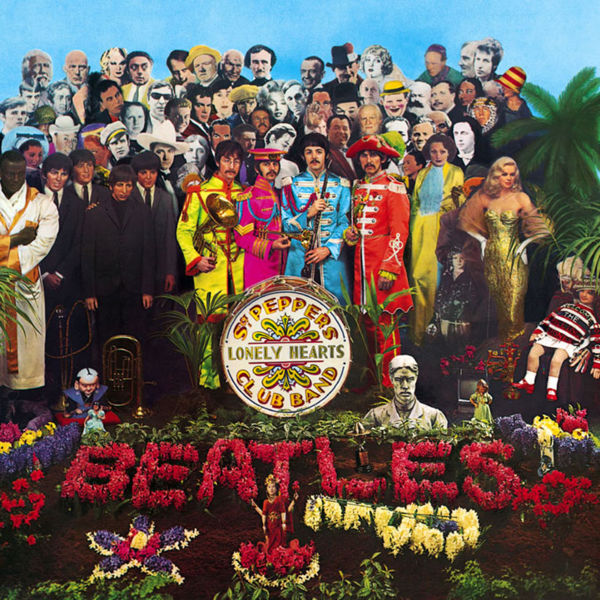 Copertina Vinile 33 giri Sgt. Pepper's Lonely Hearts Club Band di The Beatles