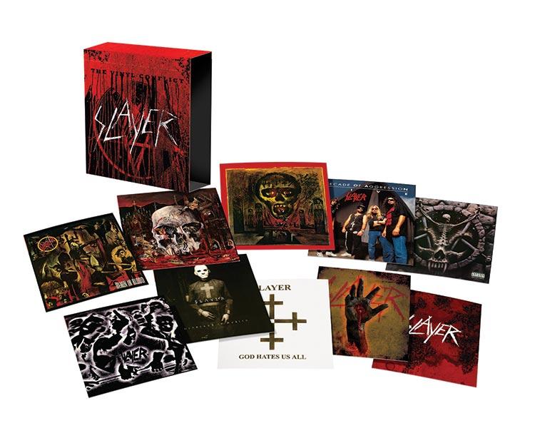 Copertina Disco Vinile 33 giri Vinyl Conflict Ltd di Slayer