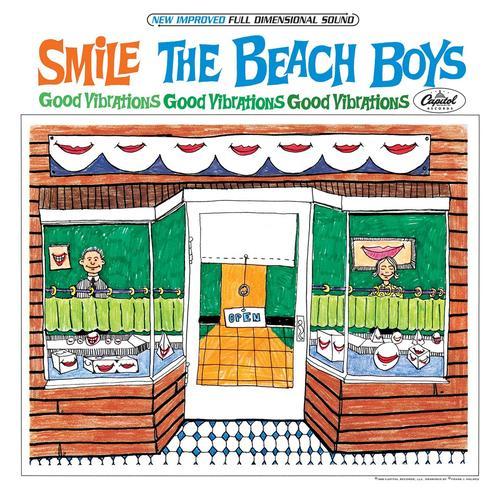 Copertina Disco Vinile 33 giri The Smile Sessions di The Beach Boys