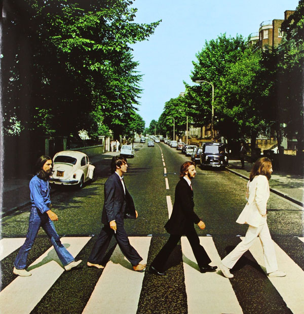 Copertina Disco Vinile 33 giri Abbey Road di The Beatles