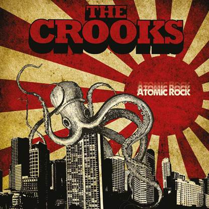 Copertina Disco Vinile 33 giri Atomic Rock di The Crooks