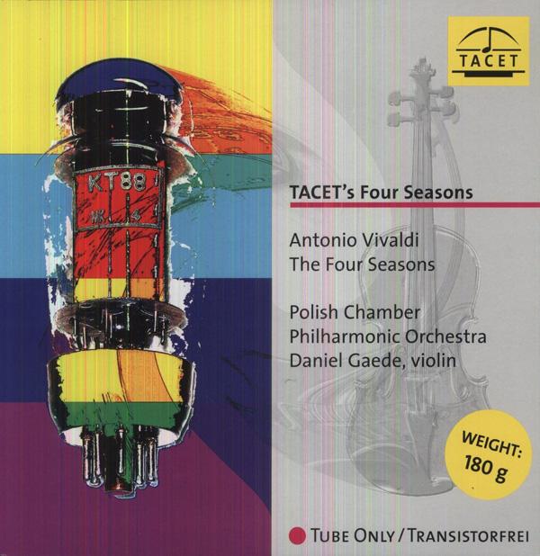 Copertina Disco Vinile 33 giri The Four Seasons [Le Quattro Stagioni] di Antonio Vivaldi