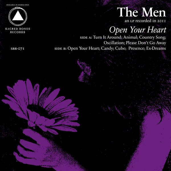 Copertina Disco Vinile 33 giri Open Your Heart di The Men