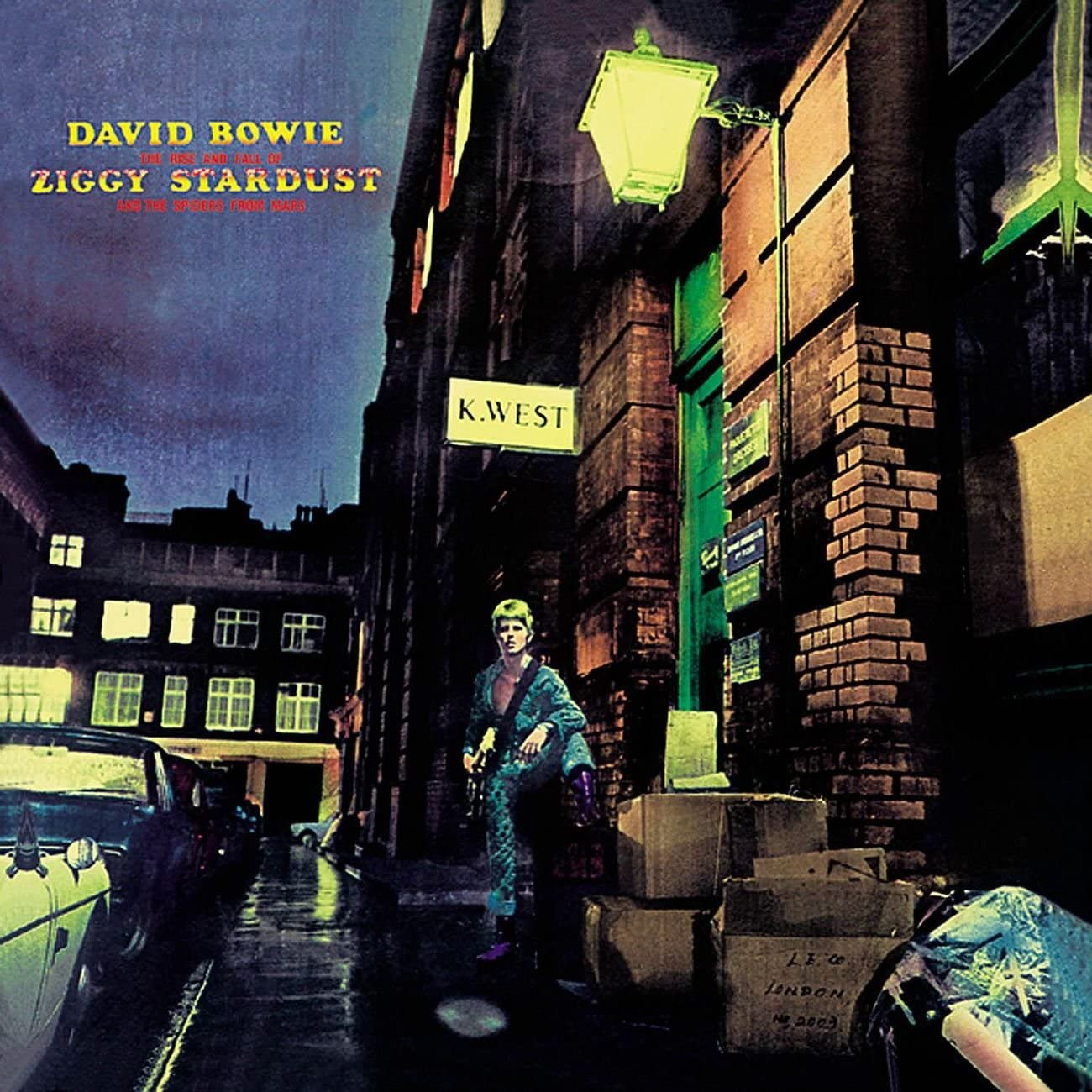Copertina Vinile 33 giri The Rise And Fall Of Ziggy Stardust di David Bowie