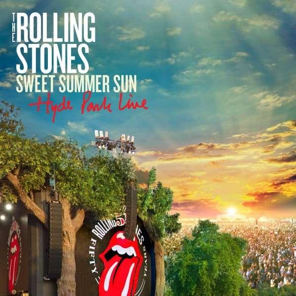 Copertina Disco Vinile 33 giri Sweet Summer Sun | Hyde Park Live [3xLP + DVD] di The Rolling Stones