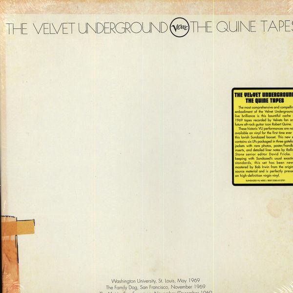 Copertina Disco Vinile 33 giri The Quine Tapes di The Velvet Underground