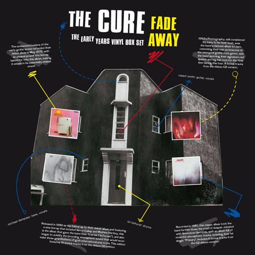 Copertina Disco Vinile 33 giri Fade Away di The Cure