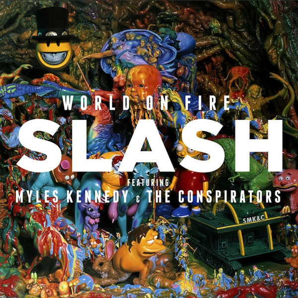 Copertina Disco Vinile 33 giri World On Fire [2 LP] di Slash