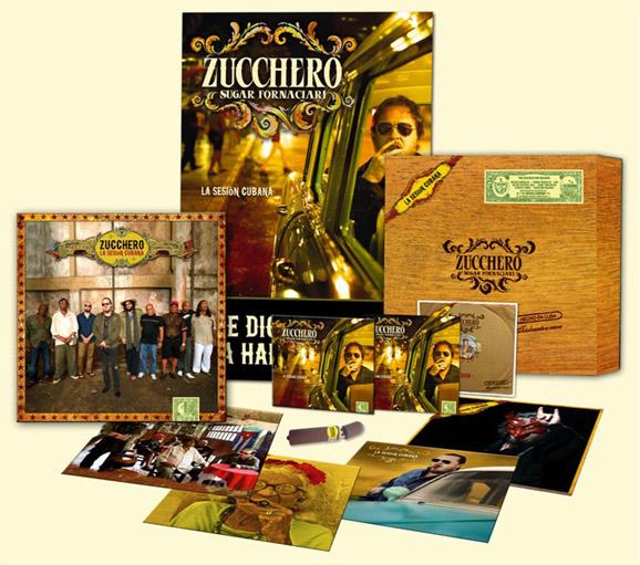 Copertina Disco Vinile 33 giri La Sesion Cubana  di Zucchero